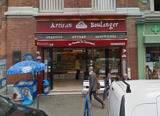 Au Paradis du Gourmand. photo: Google Maps streetview