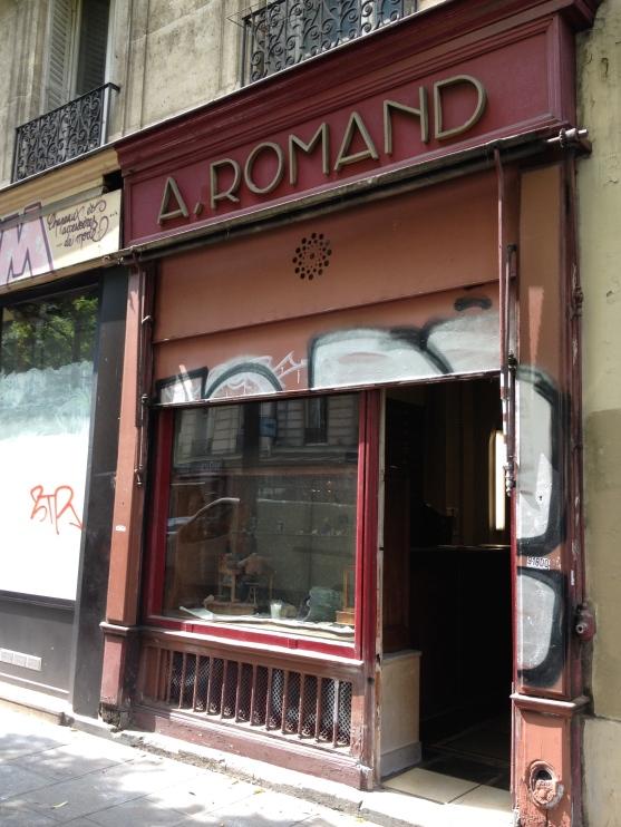 A. Romand, stone store